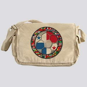 Panama Flag World Cup No Labe Messenger Bag